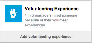 LinkedIn Volunteering