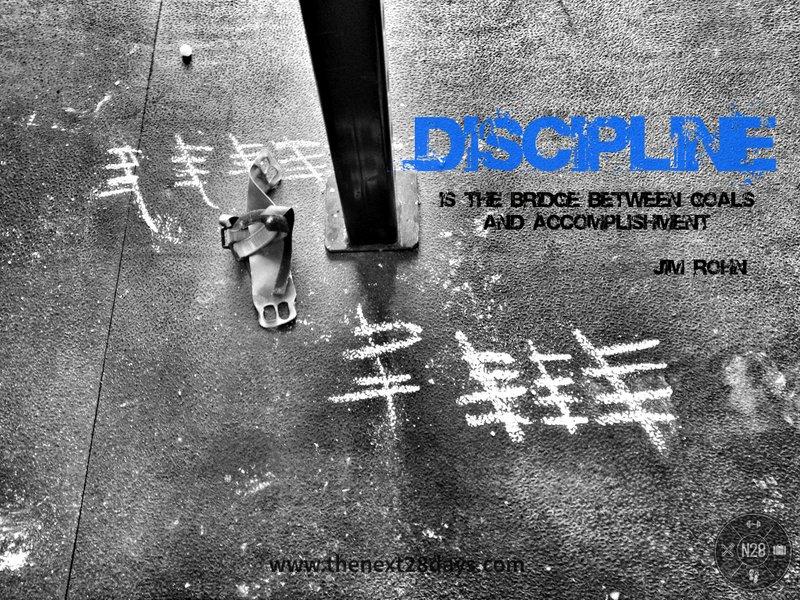 Bouw aan uw discipline