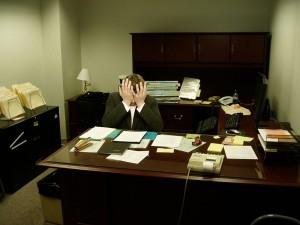 Ongelukkig in uw werkzaamheden