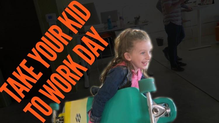 Neem je kind mee naar werk dag!