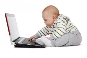 Een te jong kind mee naar werk kan een probleem worden