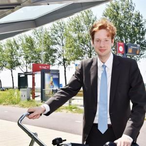 Floor Vermeulen stimuleert fietsen