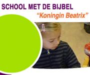 """School met de Bijbel """"Koningin Beatrix"""" logo"""